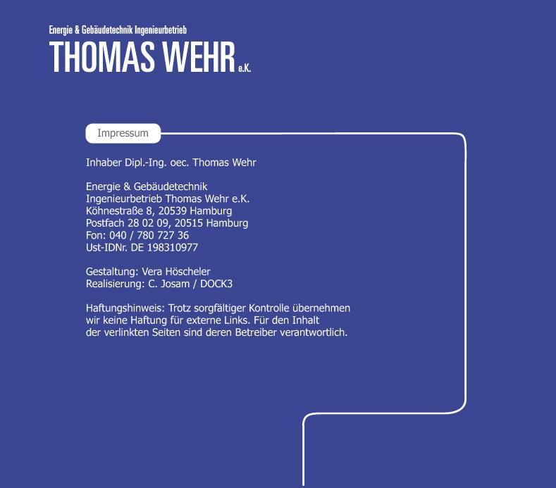 Energie & Gebäudetechnik Ingenieurbetrieb Thomas Wehr e.K.
